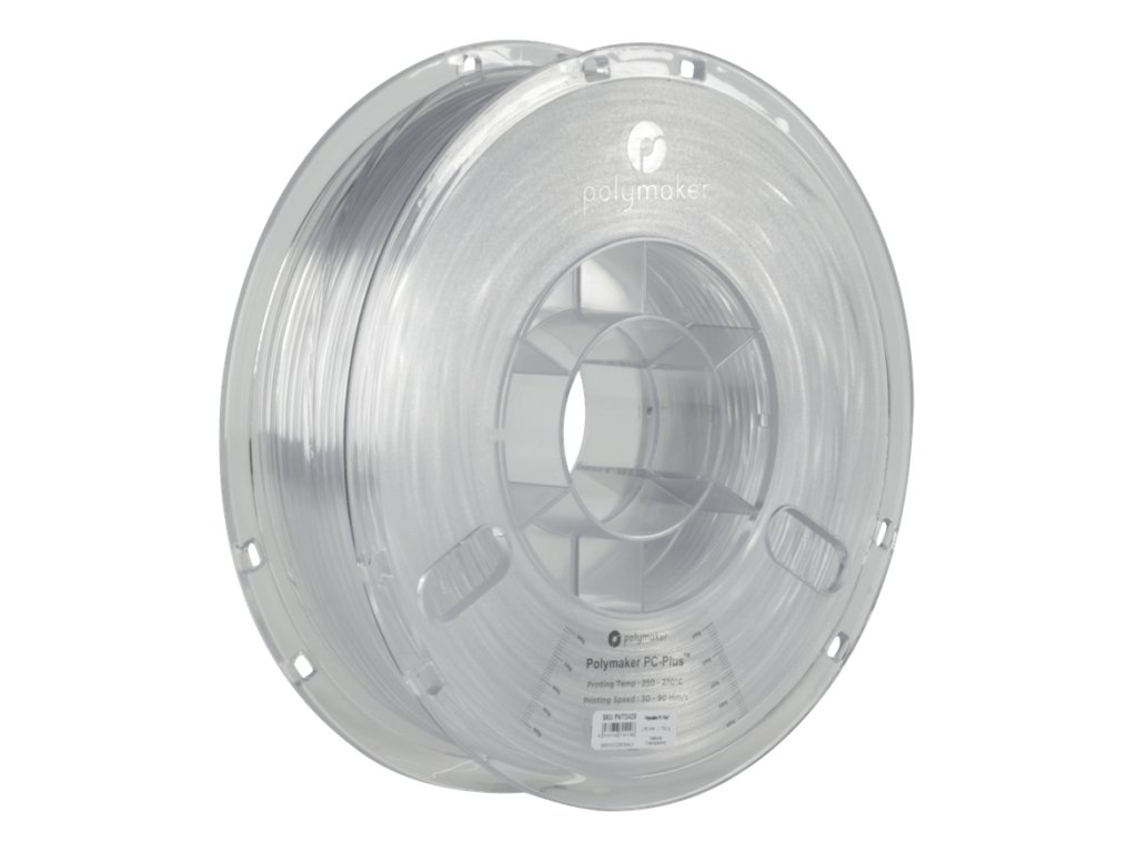 Polymaker PolyLite PC Transparent spool 700x700
