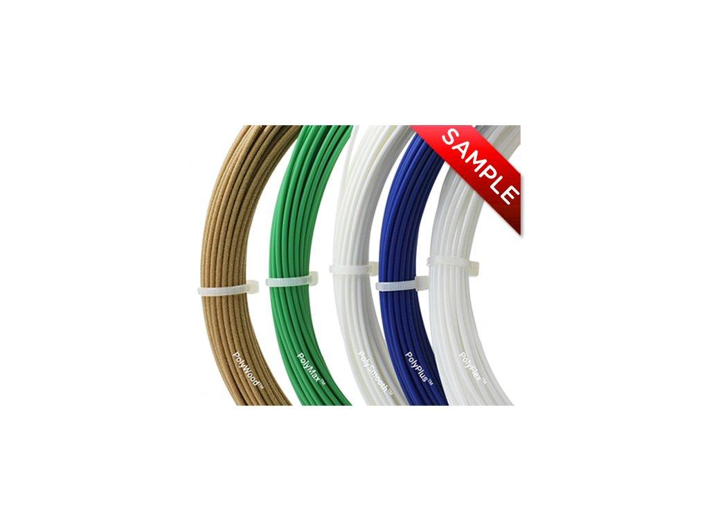 Polymaker Sample Package (balíček vzorků strun)  tisková struna (filament)