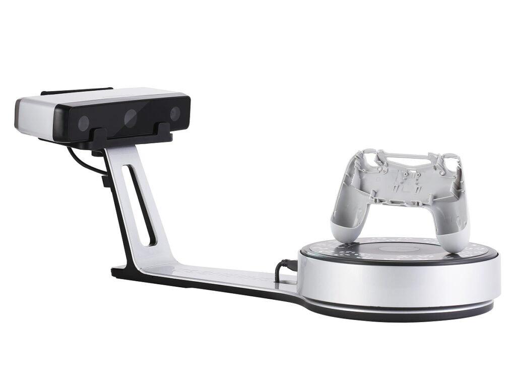 EinScan SP Silver Hand Shank 1024x768
