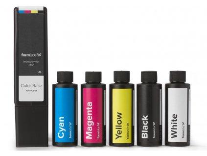 Color Kit Cartridge Bottles