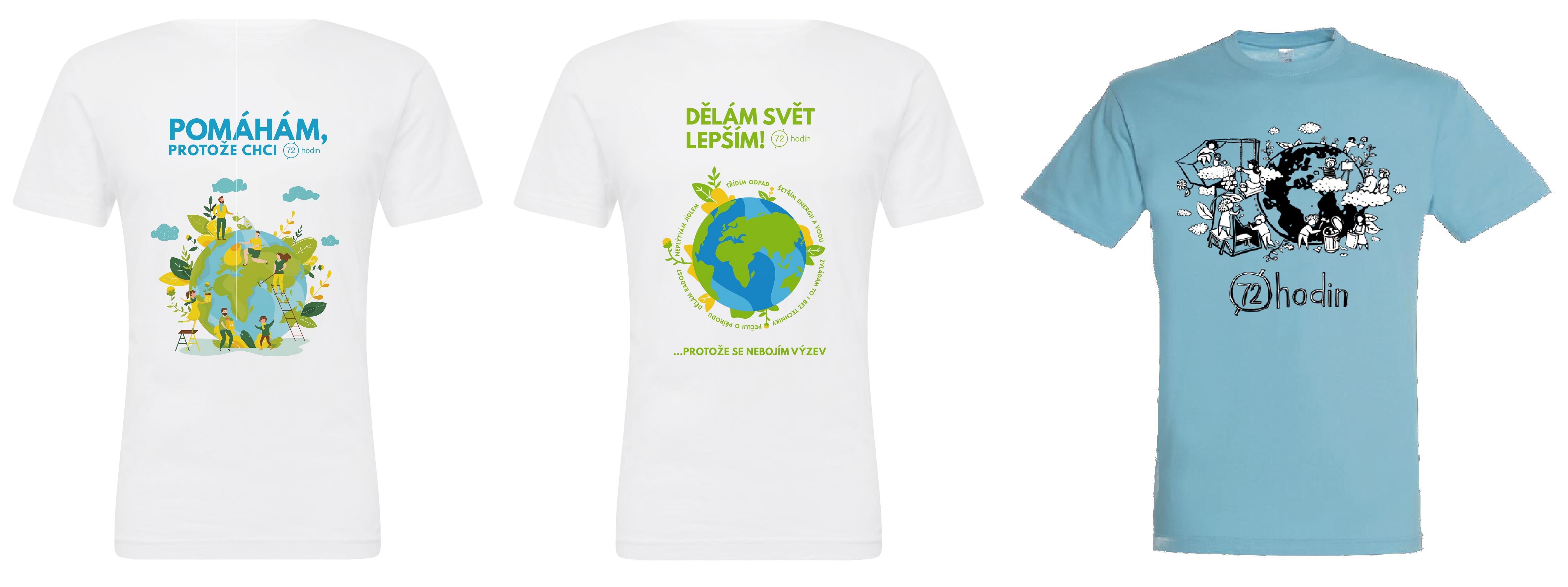 trička 2021