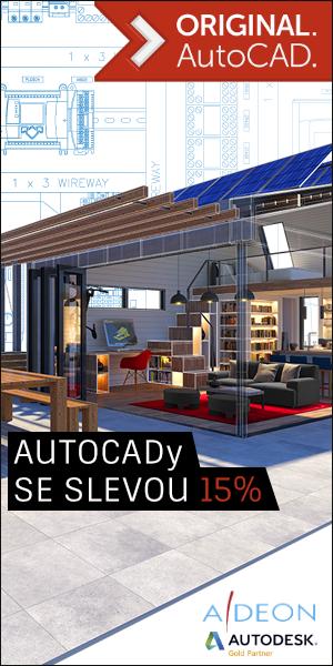 15% Sleva na AutoCAD Licence