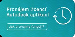 Jak fungují pronájmy licencí Autodesk?
