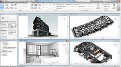 Autodesk Revit BIM model