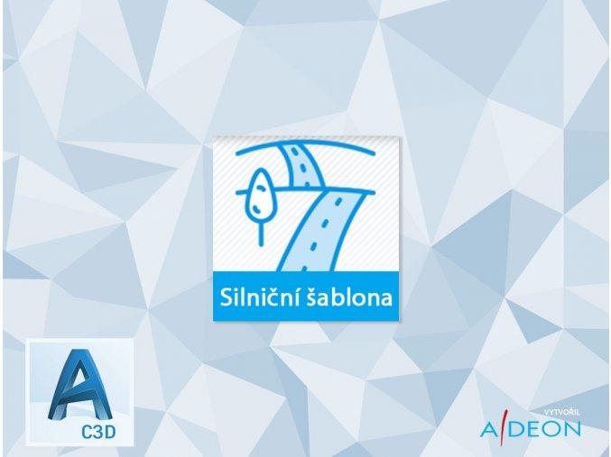 Adeon silniční šablona pro Civil 3D 2