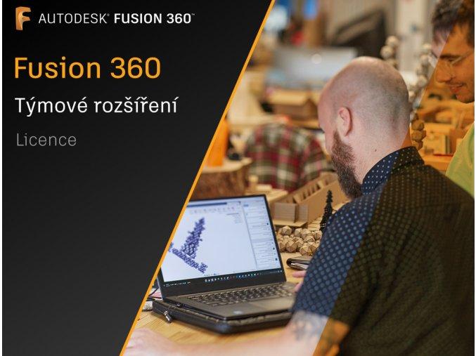Fusion 360 licence týmové rozšíření