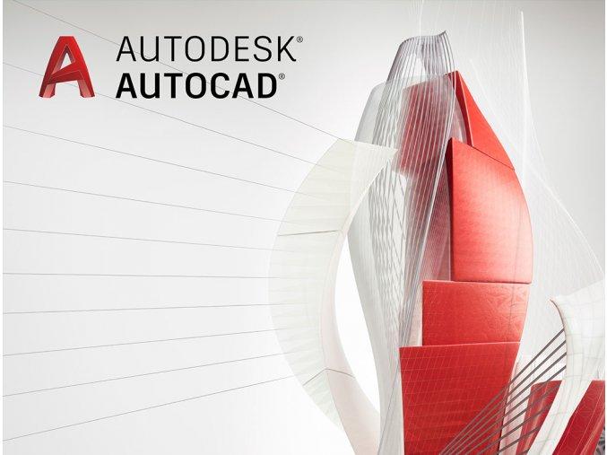 AutoCAD cena licence pronajem