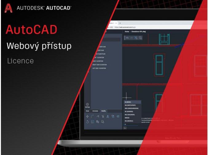 AutoCAD web aplikace cena licence
