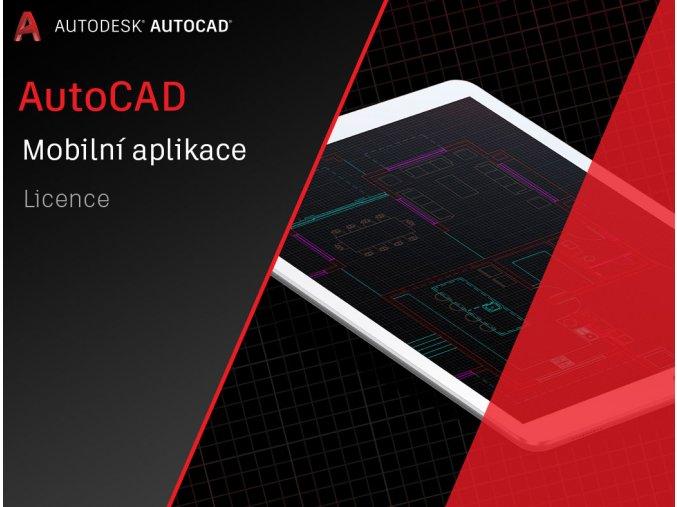 AutoCAD mobilni aplikace cena licence