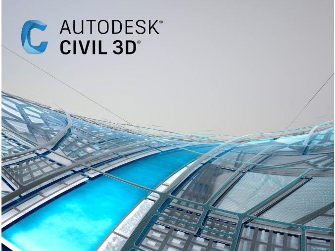 Civil 3D licence cena