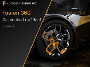 Fusion 360 licence generativní rozšíření