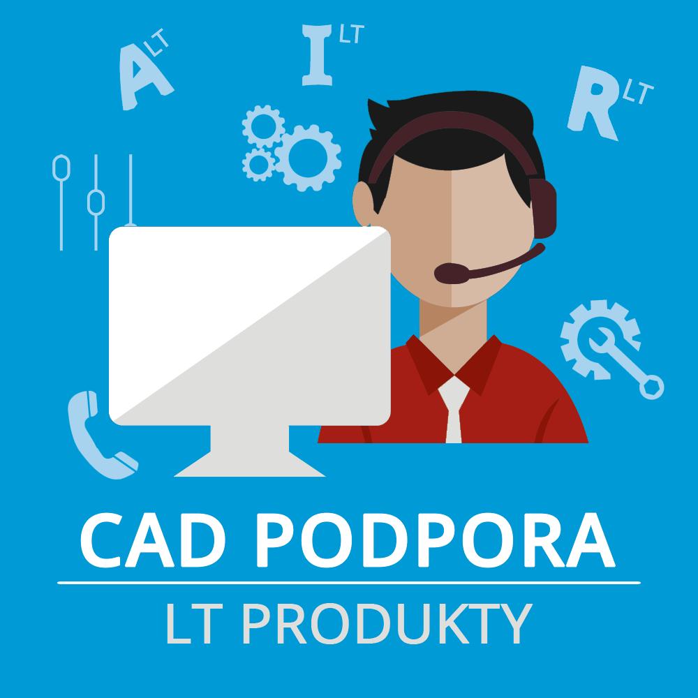 CAD Podpora LT 1 rok