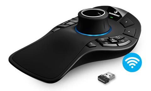SpaceMouse PRO Wireless, 3DX-700049