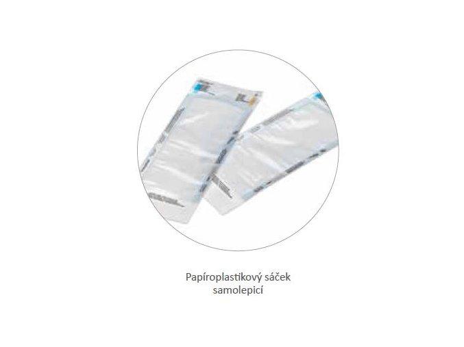 Sáček sterilizační samolepící papír-folie, 3 indikátory