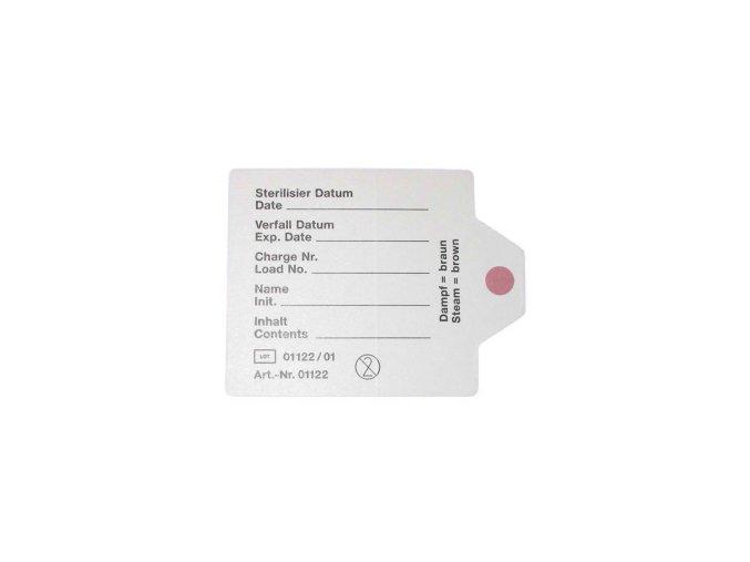 Samolepící štítek s indikátorem, 46x60 mm