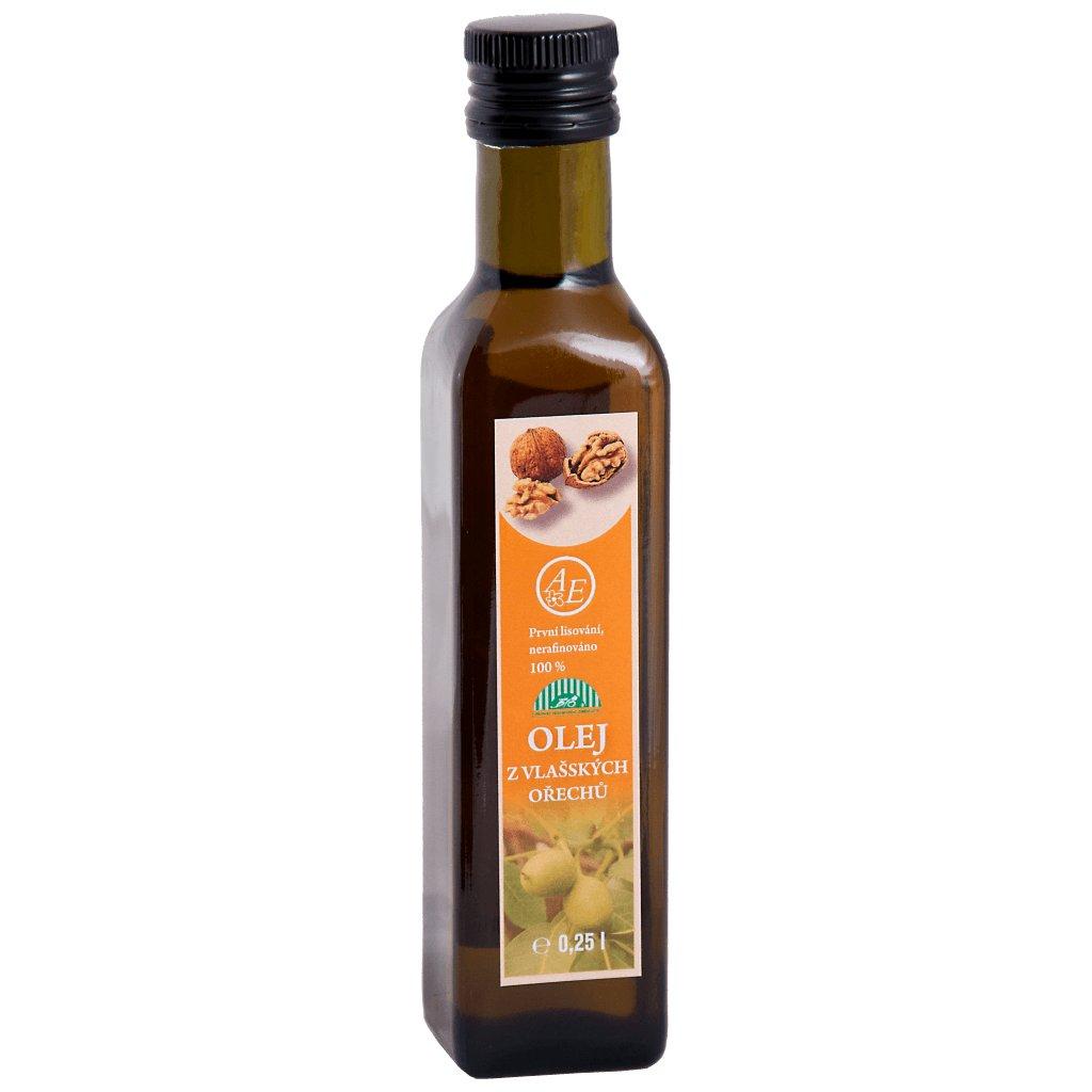 Olej z vlašských ořechů BIO