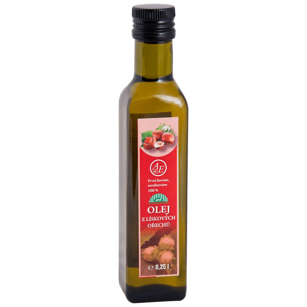 Olej z lískových ořechů BIO