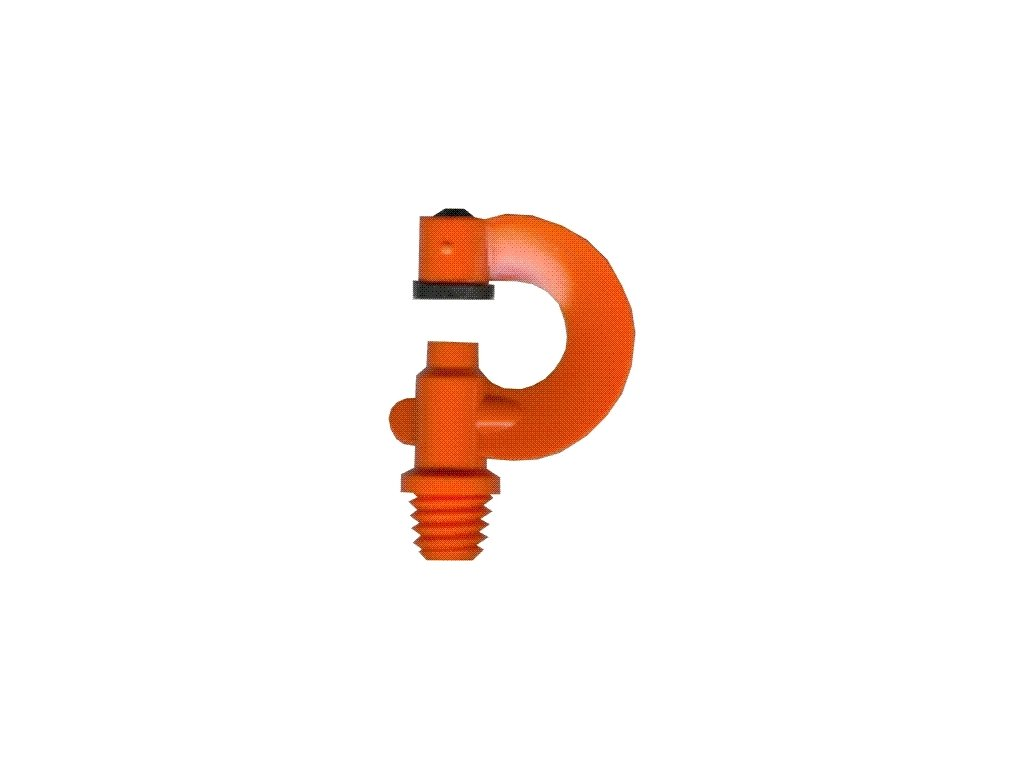 Tryska zalévací - oranžová