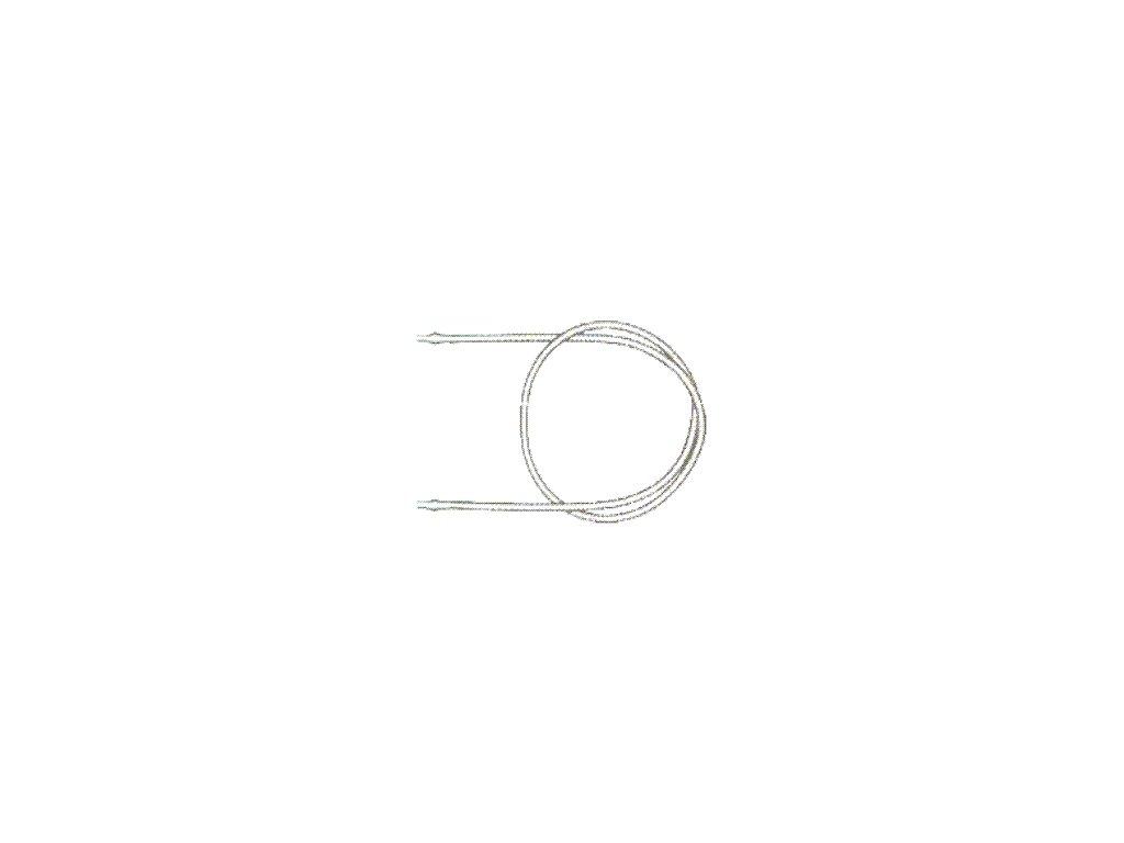 Hadička 7 mm / 1 m - kompletní
