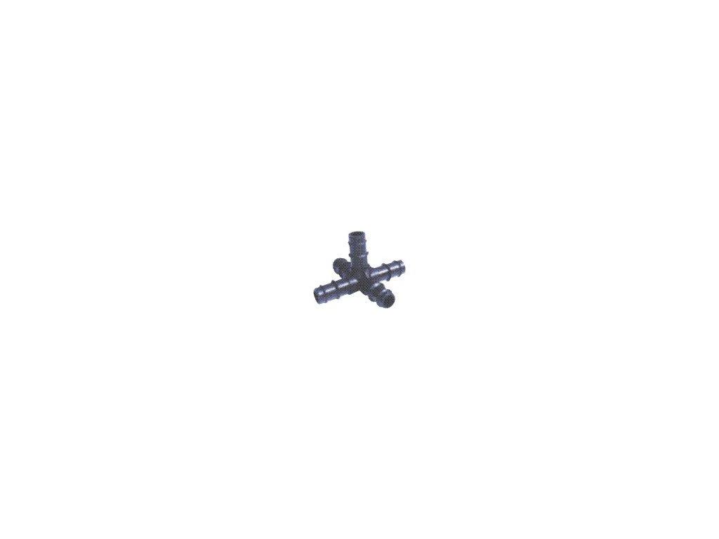 Pěticestný kříž 16 mm