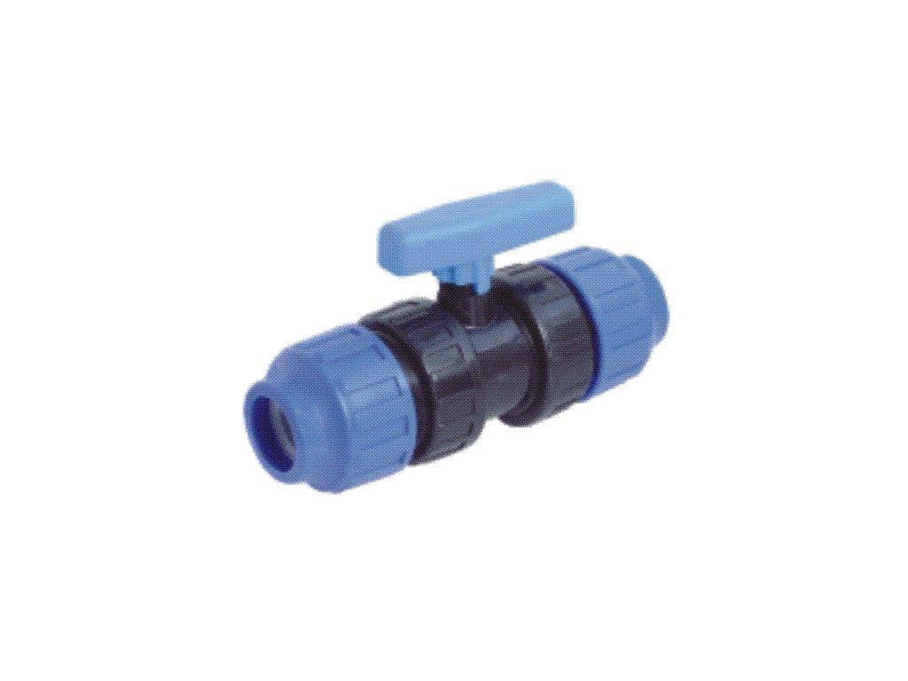 PP kulový ventil 25 mm