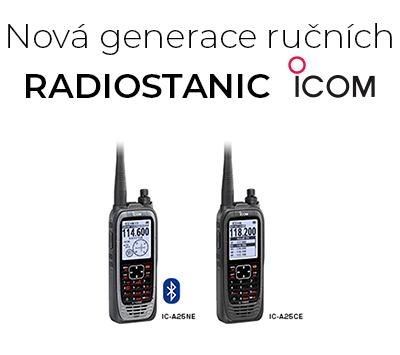 Nová generace radiostanic ICOM