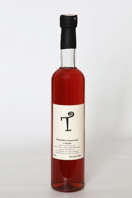 """""""T"""" Trnkové víno 0,5l"""