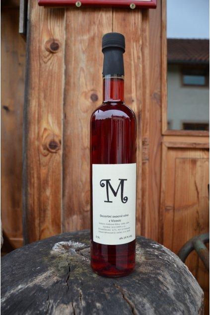 """""""M"""" Malinové víno 0,5l"""