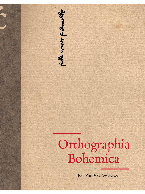 Orthographia Bohemica