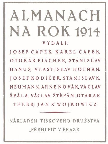 Almanach na rok 1914