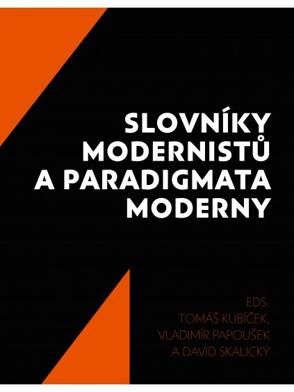 Slovníky modernistů aparadigmata moderny