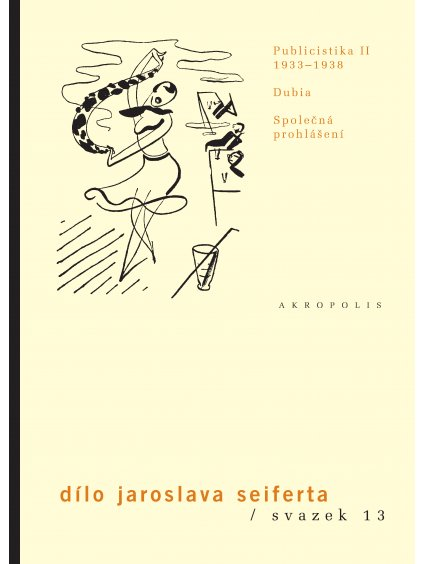 Dílo, sv.13. Publicistika 1933–1938