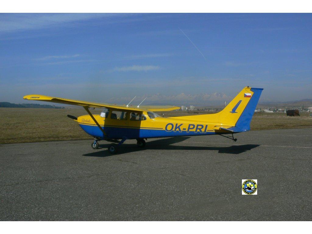 Letoun Cessna 172,Slovensko Tatry
