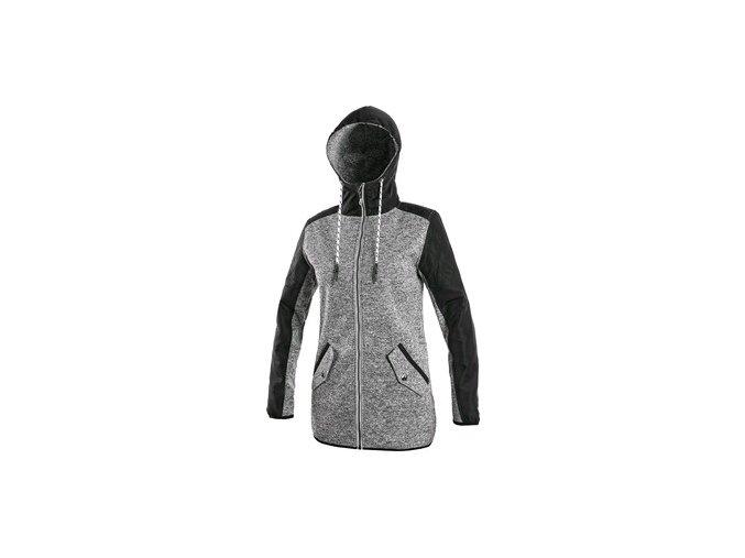 Bunda CXS CAPE, dámská, šedo-černá