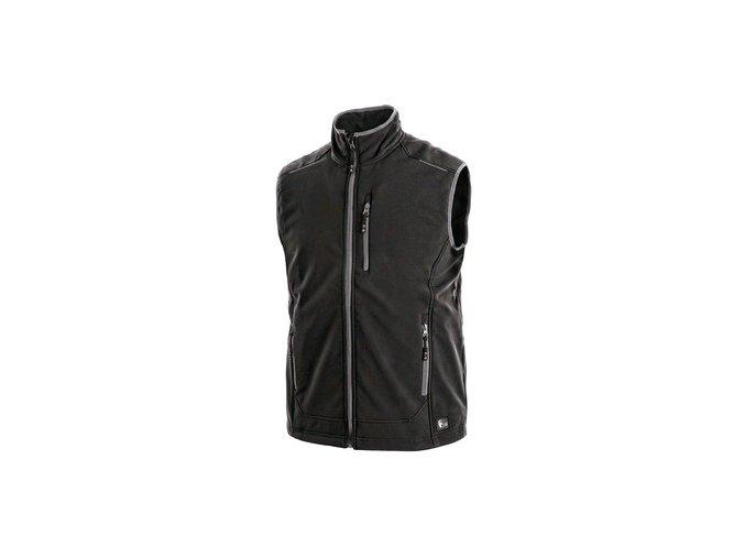 Pánská softshell vesta TOPEKA, černá