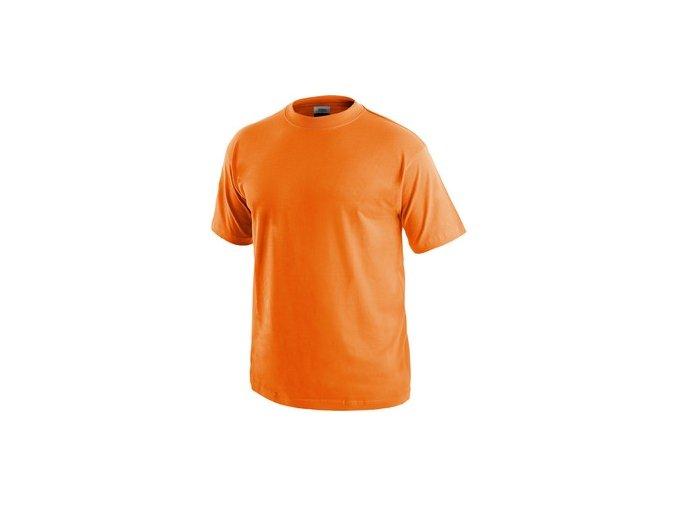 Tričko s krátkým rukávem DANIEL, oranžové