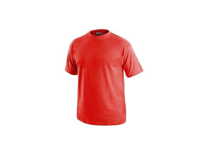 Tričko s krátkým rukávem DANIEL, červené