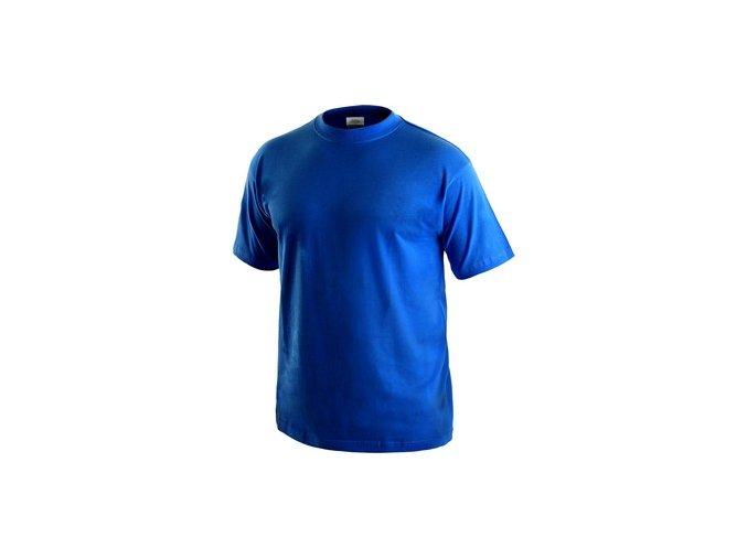 Tričko s krátkým rukávem DANIEL, středně modré