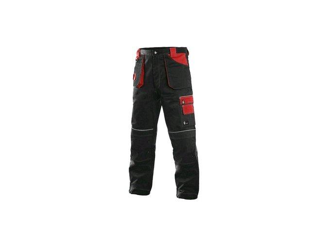 Kalhoty do pasu CXS ORION TEODOR, pánské, černo-červené