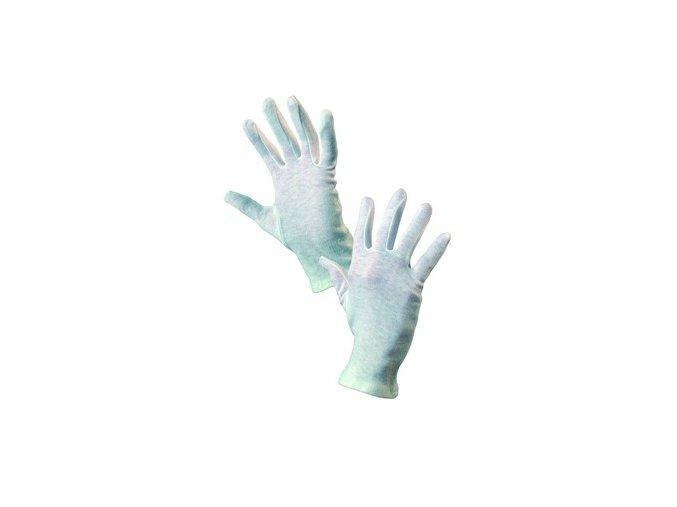 Textilní rukavice FAWA, bílé, vel. 07