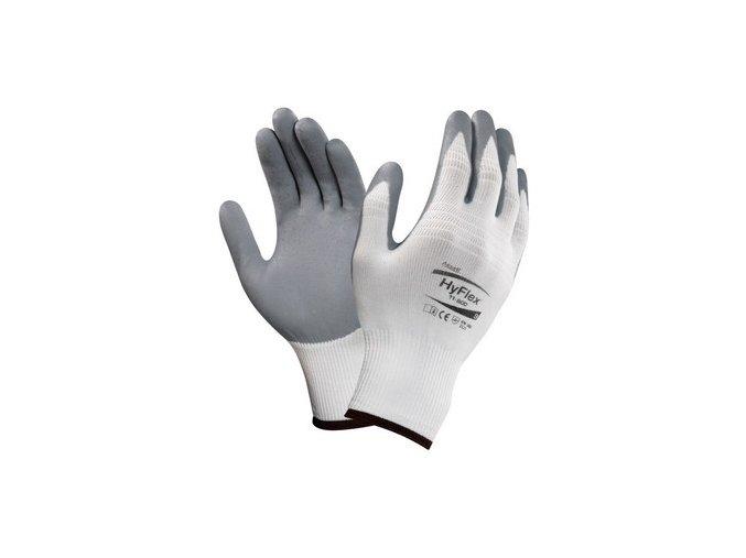 Povrstvené rukavice ANSELL HYFLEX FOAM