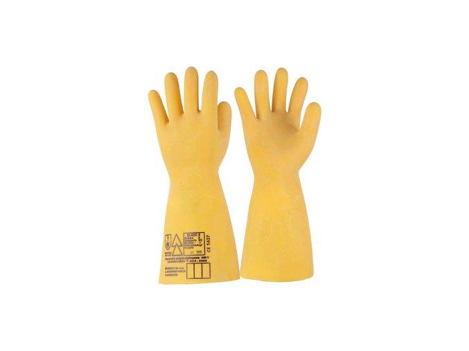 Dielektrické rukavice Elektrosoft, 500 V, vel. 11