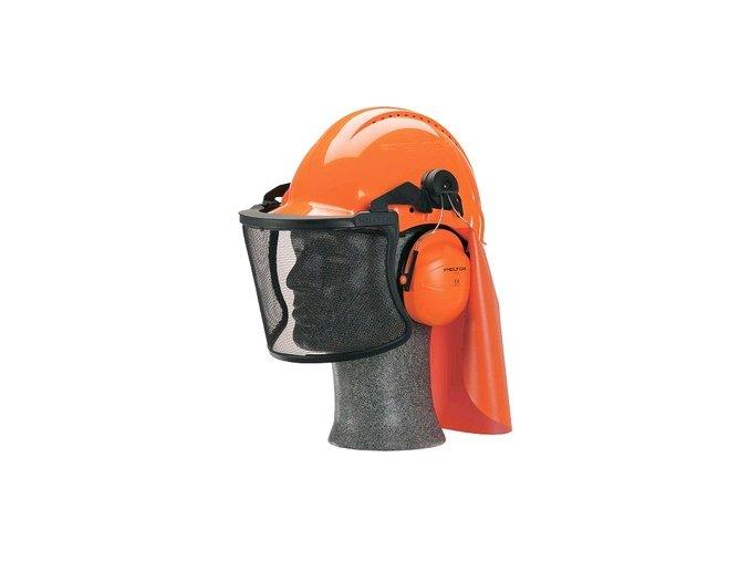 Lesnický set 3M Peltor G3000NOR51V5C, oranžový