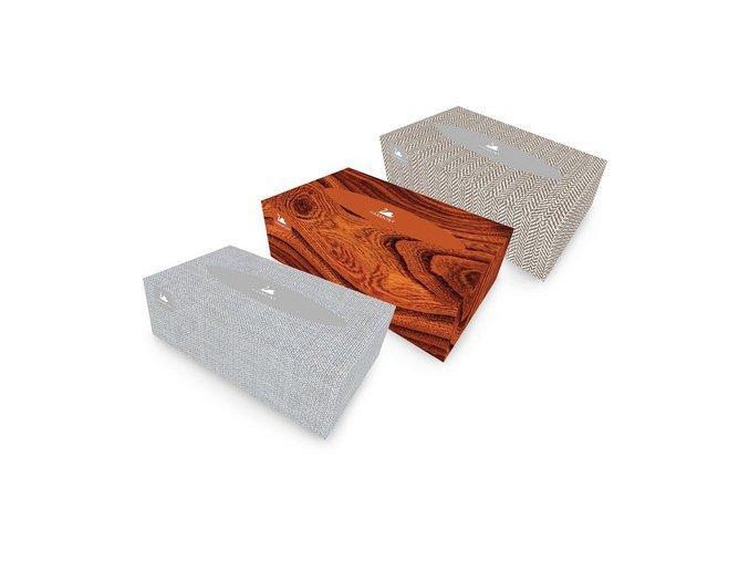 Papírové kapesníky v krabičce, 150 ks, 2-vrstvé