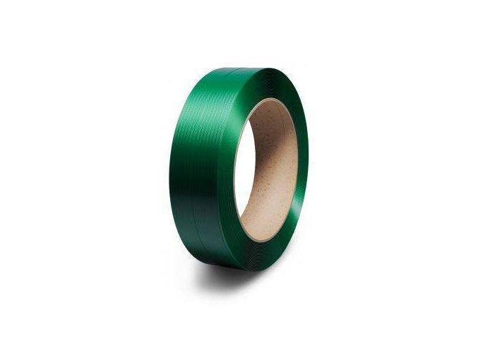 PET vázací páska zelená