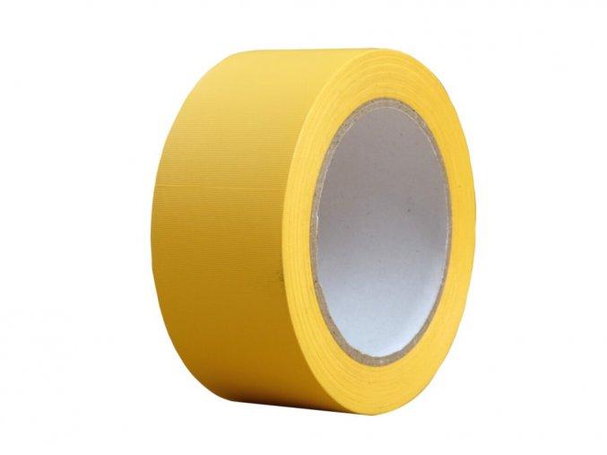 Podlahová vyznačovací páska 50 mm x 33 m žlutá Aldivex