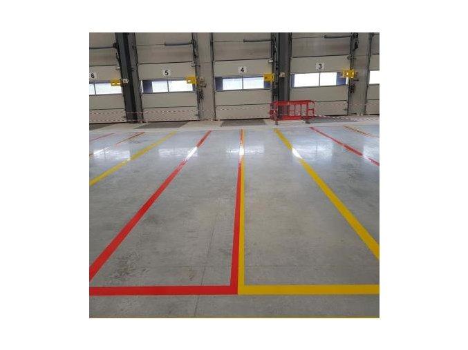 Podlahová vyznačovací páska 50 mm x 33 m zelenou Aldivex