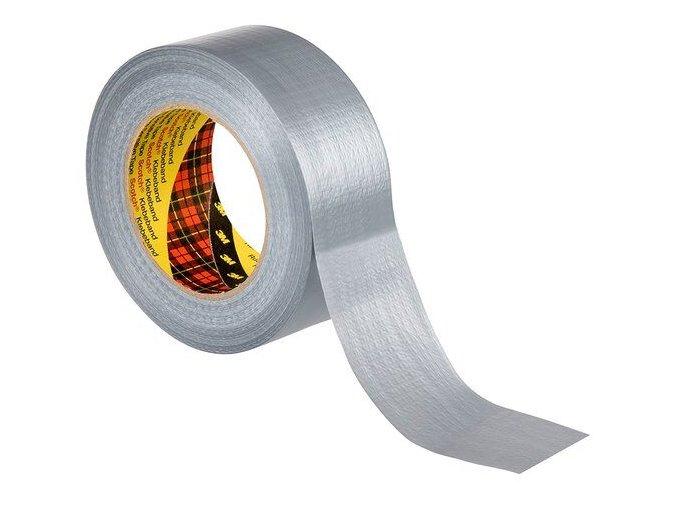 Univerzální textilní páska stříbrná