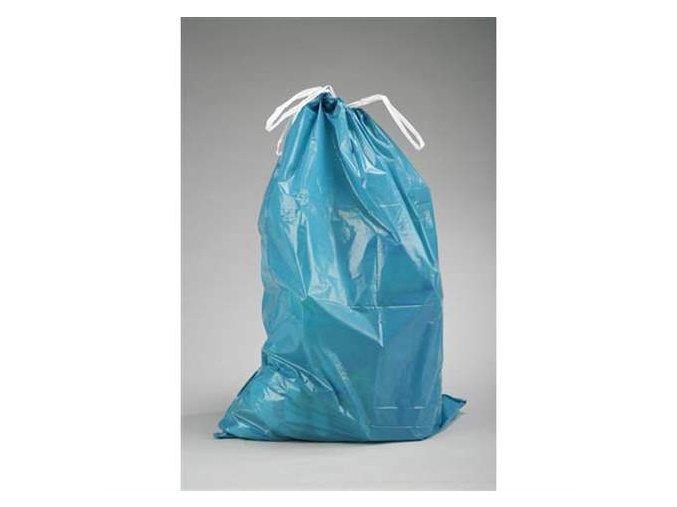 Pytel na odpad zatahovací 110L modrý, 25ks v roli Aldivex