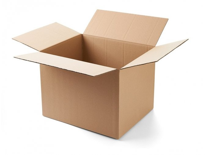 Krabice 600 mm x 400 mm x 300 mm - pětivrstvá